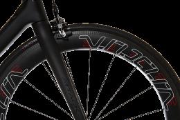 VeloElite Carbon 60mm Wheelset - Red