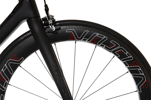 VeloElite Carbon 60mm Wheelset - Red