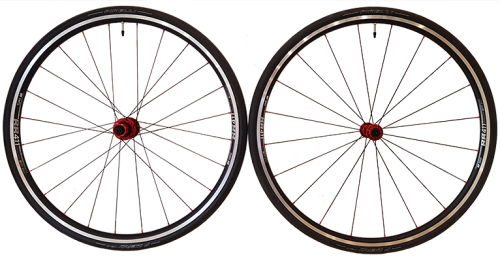 VeloElite Road TSC Alloy Wheels