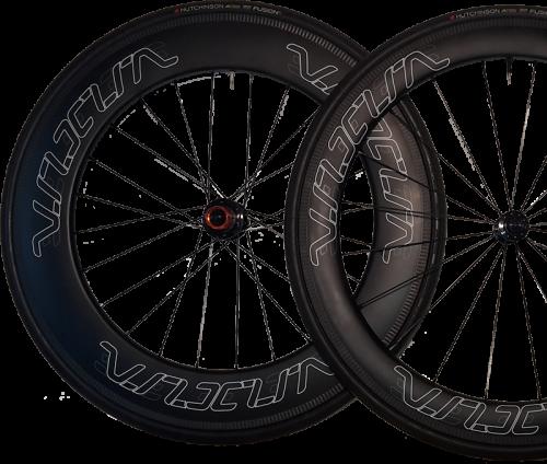 VeloElite Tri Wheels 88mm 60mm
