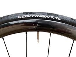 VeloElite 38mm Wide Disc Gloss Carbon Wheels