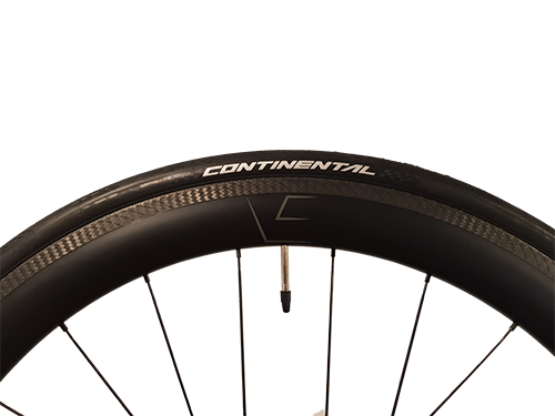 VeloElite 50mm Wheelset Rim Brake